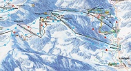 Leogang Ski Trail Map