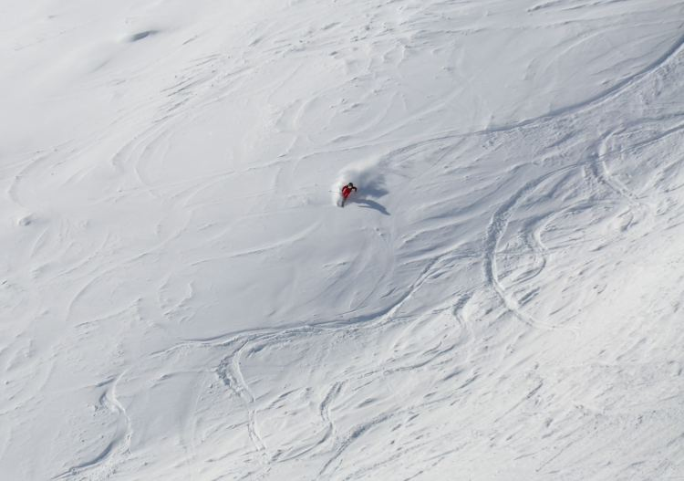 Powder possibilities abound at Solden ski resort.