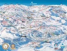 Ski Arlberg Trail Map