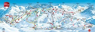 Warth Schroecken Ski Trail Map