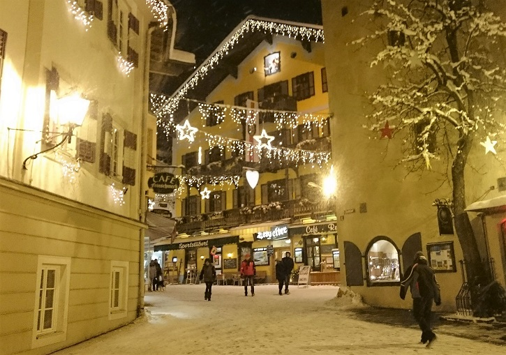 Zell am See ski resort has a pretty town centre and vibrant nightlife.
