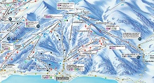 Zell am See Trail & Piste Map