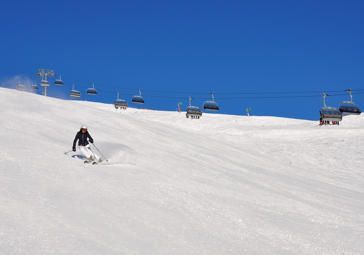 Ski and snowboard Austria for perfect piste all to yourself.