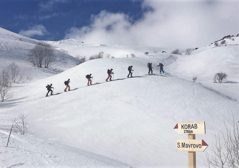 Macedonia Ski Touring Safari