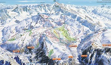Alpe d'Huez Ski Trail Map
