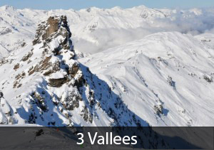 3 Vallees: #1 best overall rated ski resort in France