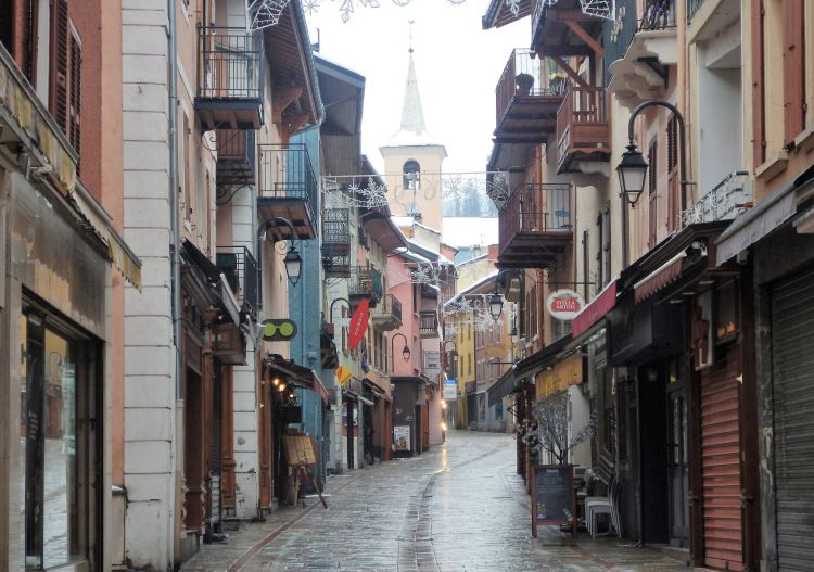 Bourg St Maurice is the Tarentaise valley's most important town.