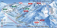 Chamonix Ski Resorts Map