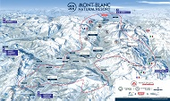 Mont Blanc Unlimited Ski Pass Area Map