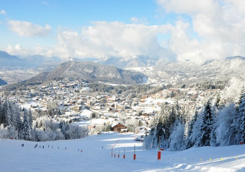 Grand Massif ski area includes the villages of Flaine, Les Carroz, Morillon, Samoens & Sixt