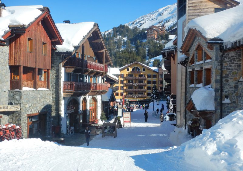 Arc 1950 is the prettiest of Les Arcs villages.