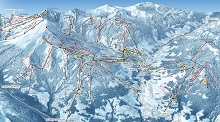 Megeve Ski Trail Map
