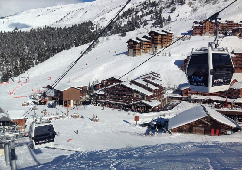 Meribel is characterised by low-rise chalets