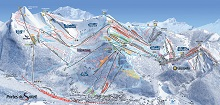Morzine - Les Gets Ski Trail Map
