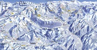 French Portes du Soleil Ski Trail Map