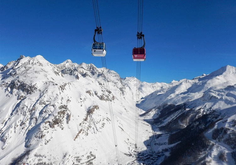 Val d'Isere is one of France's most famous ski resorts.