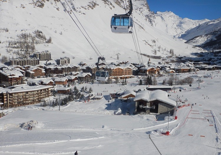 Ski the world's best resorts like Val d'Isere in France.