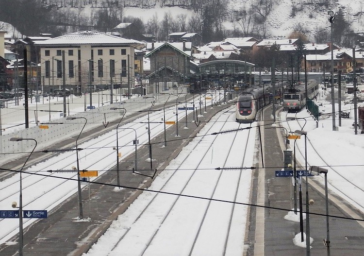 Travel to ski France in style by train to Bourg St Maurice.
