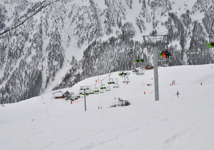 Serre Chevalier has a total of 20 chairlifts.