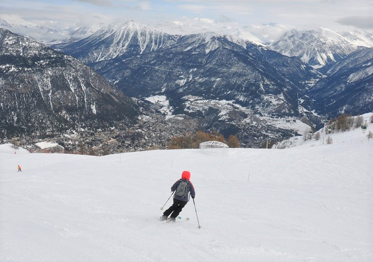 Alpine to valley skiing at its best in Serre Chevalier.