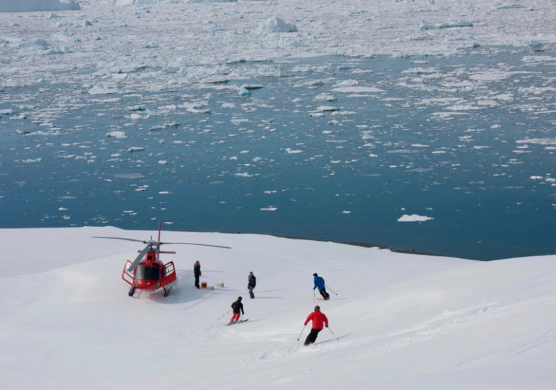 Arctic Heli Skiing Greenland Package