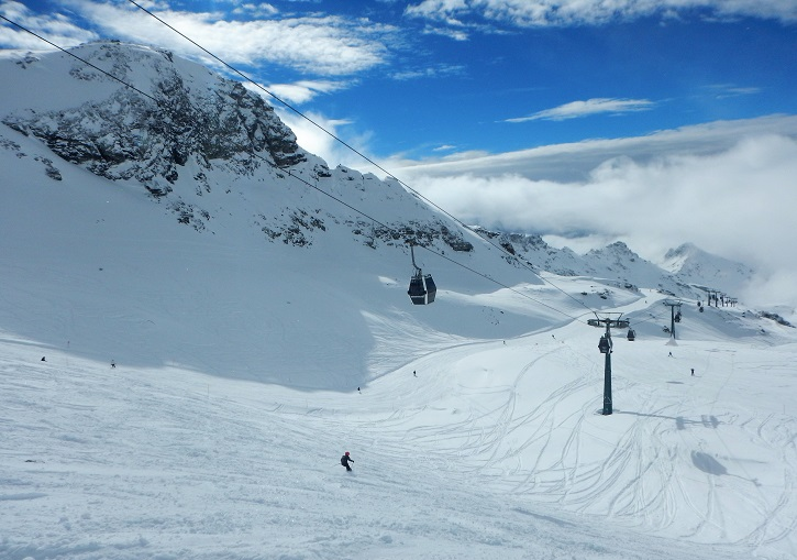 The freeride paradise of Alagna, part of Italy's magnificent Monterosa Ski.