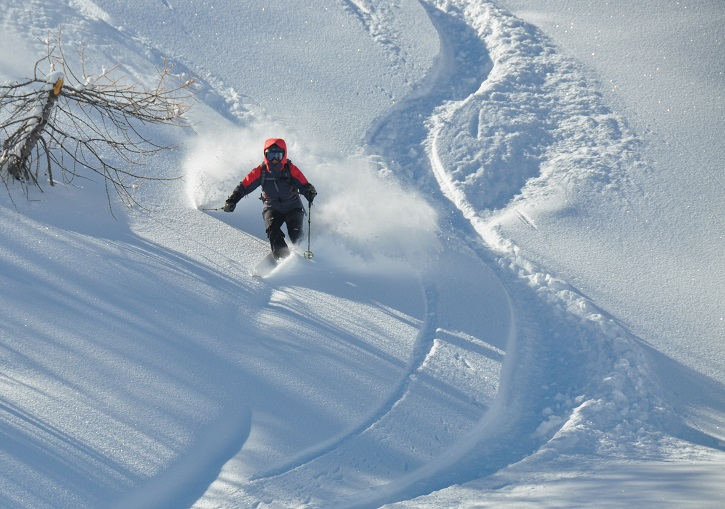 Ski Italy for powder. Oulx (Sauze d'Oulx) ski resort, Via Lattea near Turin.