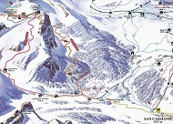 Armentarola Ski Trail Map