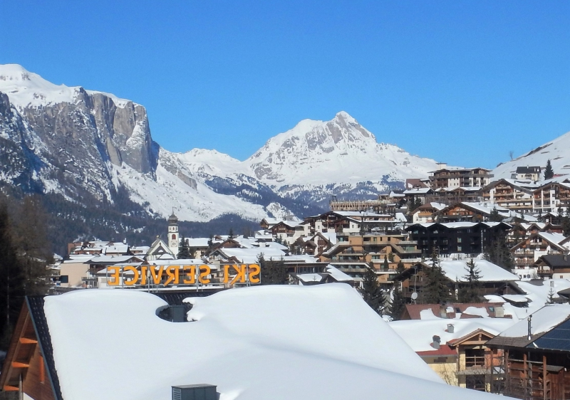 San Cassiano, one of five major Alta Badia villages.