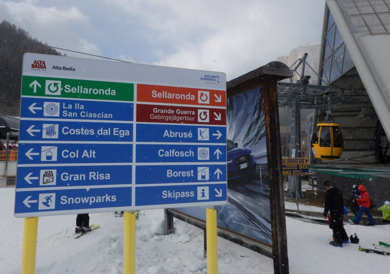 Alta Badia is central to the famous, but sometimes busy, Sella Ronda.