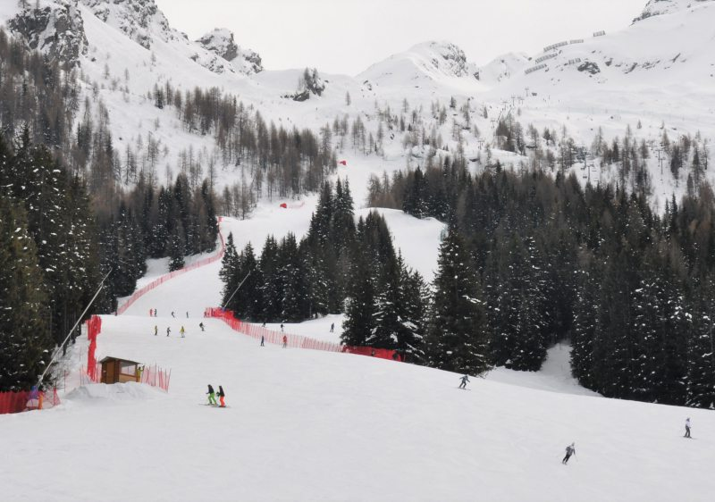Nearly half of the terrain at Aprica is rated for intermediates.