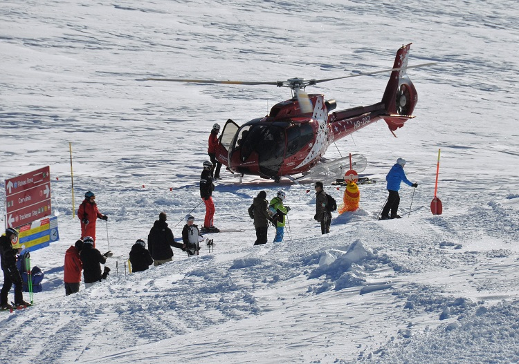 Heli skiing is available in Cervinia for the adventurous.