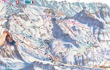 Cervinia Ski Trail Map