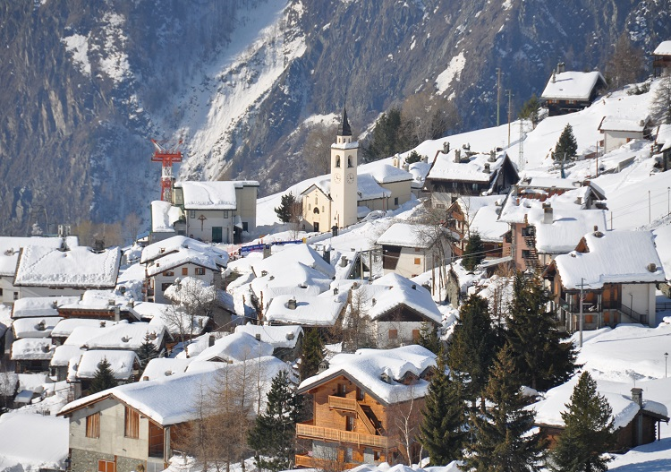 Chamois is Italy's only car free village.