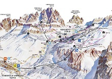 Faloria Trail Map
