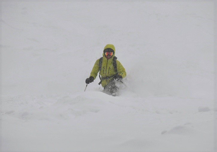 C is also for powder. Come and get some at Courmayeur.