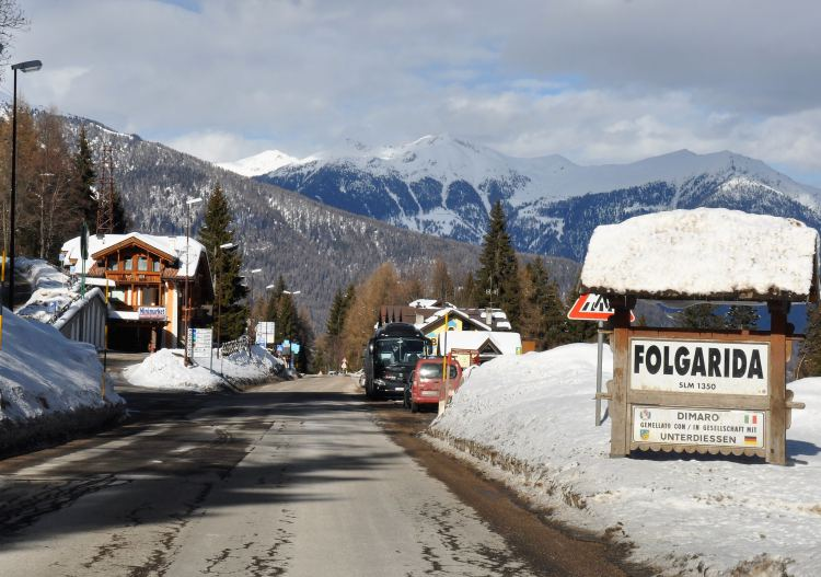 Folgarida village is the best place to stay in the ski resort.