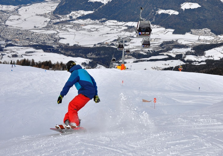 Challenge yourself on Kronplatz Hernegg run - 5km and 1300m vertical.