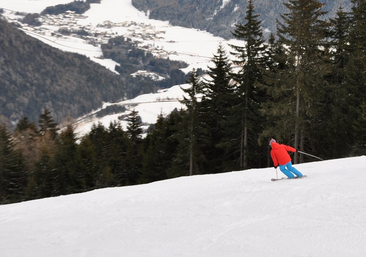 Ried piste trail - 7km long, 1325m vertical - go fast!