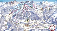 Kronplatz Ski Trail Map