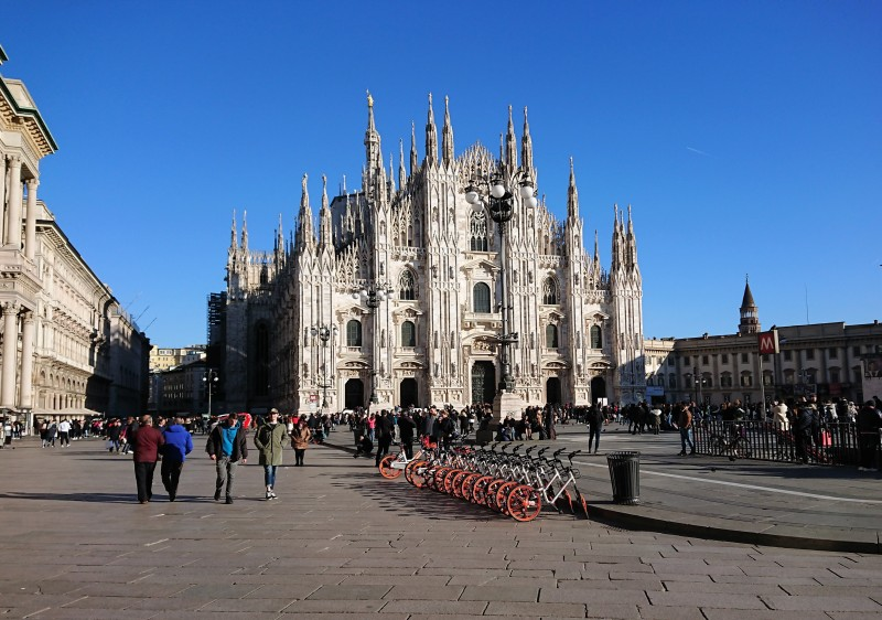 The Duomo is a Milan landmark & rightfully so.....