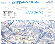 Eisacktal Trail Map