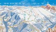 Plose Ski Trail Map