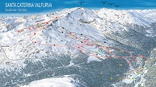Santa Caterina Valfurva Ski Trail Map