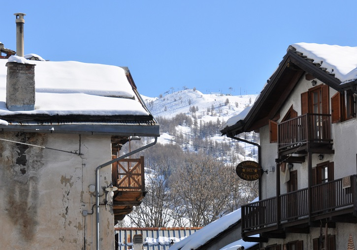 Champlas du Col holds to tradition near Sestriere ski resort.