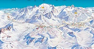 Tonale Adamello Ski Trail Map