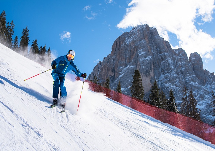 Ski the piste at Val Gardena
