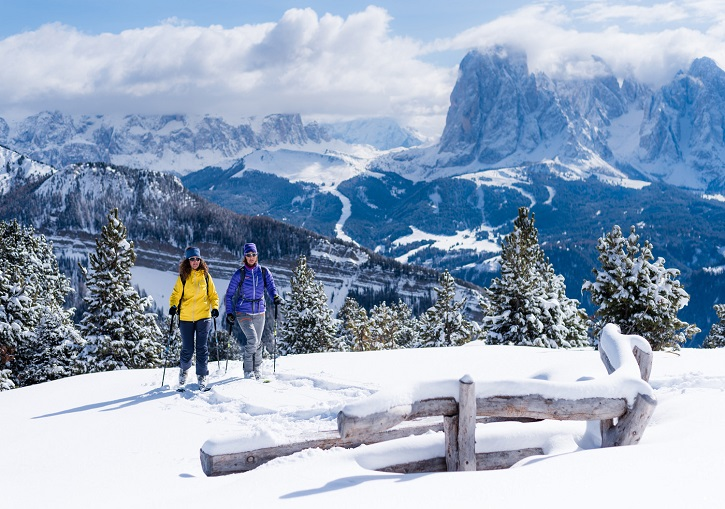 Tour far and wide in Val Gardena.