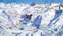 Val Senales Ski Trail Map