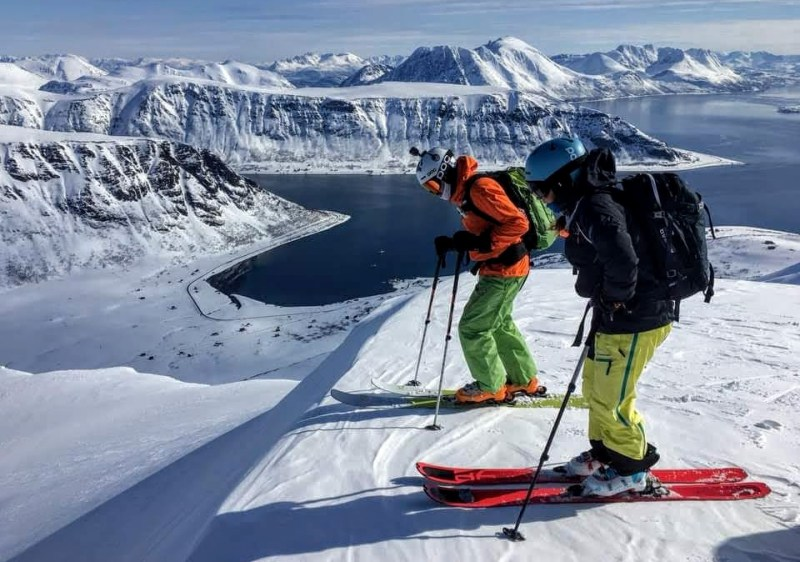 Ski Lyngen Alps Norway (Photo - Sherpas Ride)